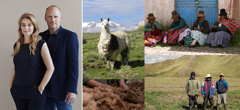 ELVANG夫妻とペルーの人々の画像