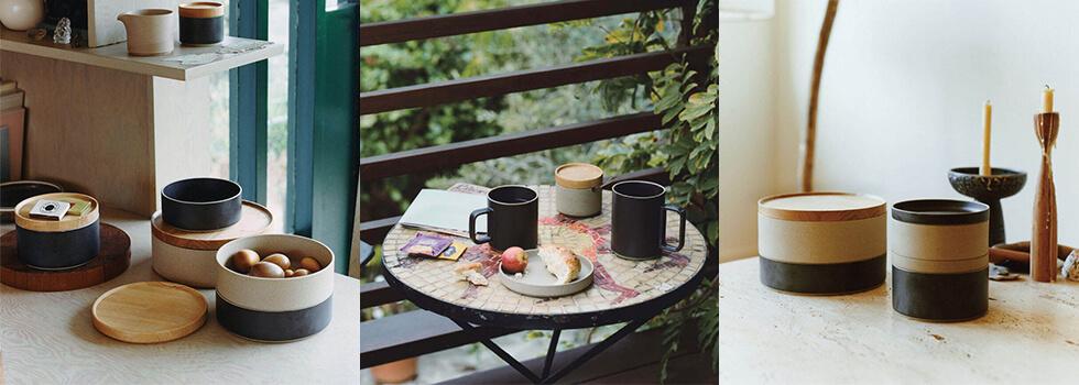 HASAMI PORCELAINに食事やデザートが盛られたイメージ画像