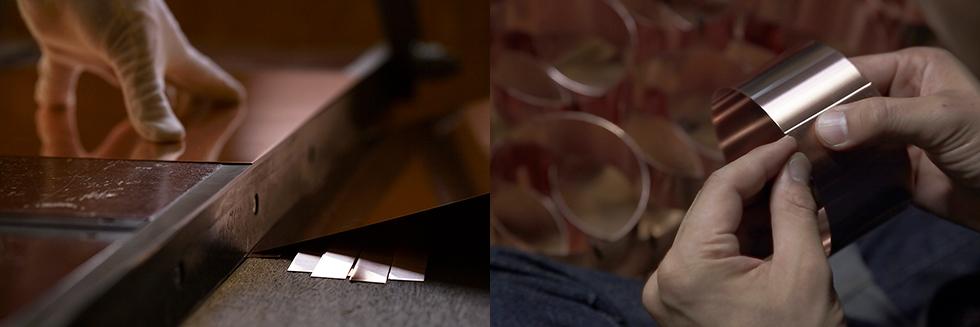 開化堂の茶筒作りのイメージ画像