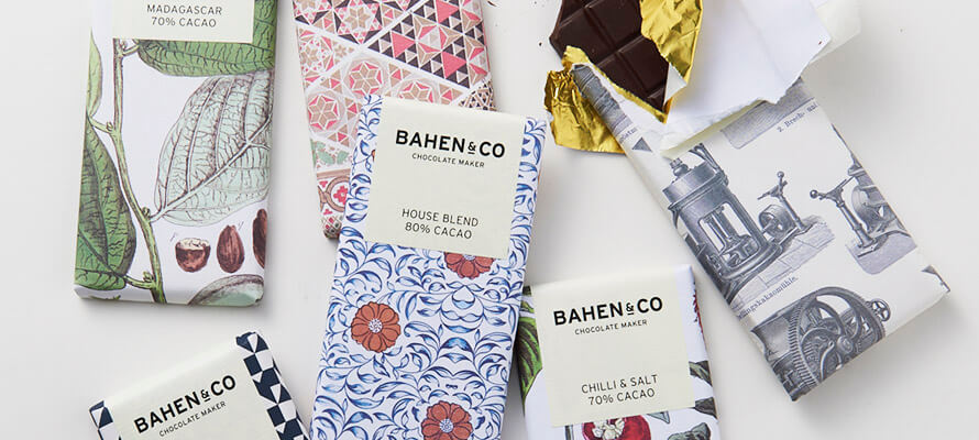 BAHEN&CO バーヘン&コー/チョコレートバー(6種)