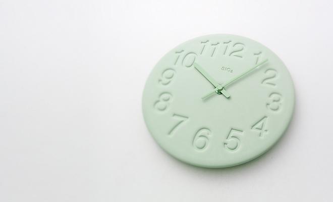 Lemnos レムノス/珪藻土の時計