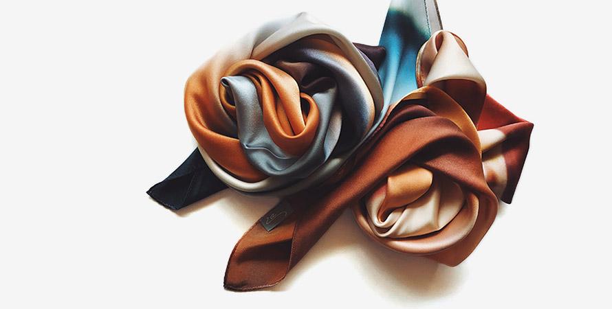La スカーフ