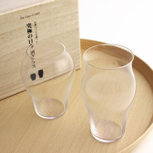 究極の日本酒グラス 「花」「蕾」セット