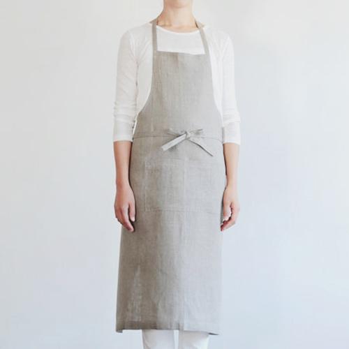 fog linen work/リネンフルエプロン(2種)