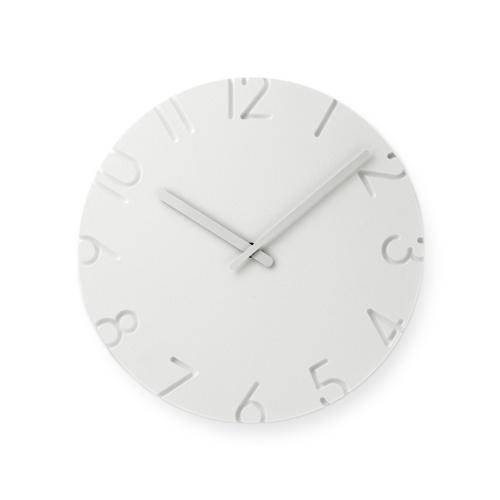 Lemnos /CARVED 壁掛け時計 Arabic(NTL10-04A)
