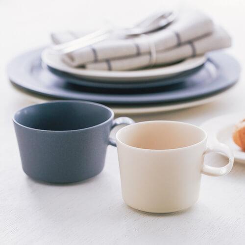 yumiko iihoshi porcelain/「unjour」カップ rainy gray(3サイズ)