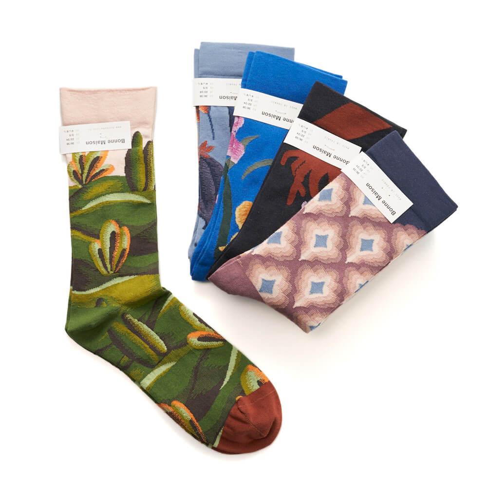 Bonne Maison ボンメゾン/レディースソックス 靴下(8種)