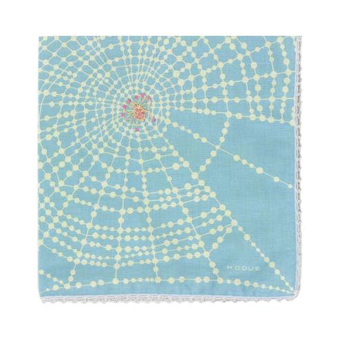 ハンカチ 「くもの宝石」(3色)