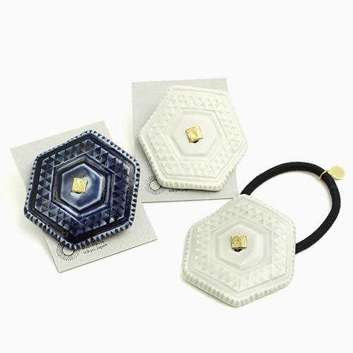 ヘアゴム 六角(3色)