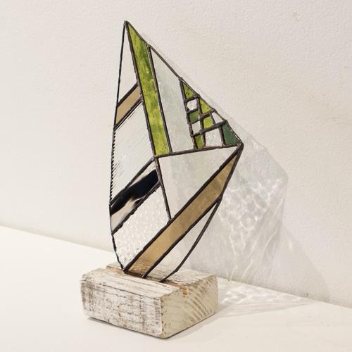 vivo stained glass ビーボステンドグラス/OBJECT 台座付きオブジェ