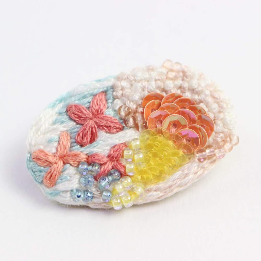 aya iiizumi アヤ イイイズミ/bouquet ブーケ ピンク(ブローチ・ピアス・イヤリング)