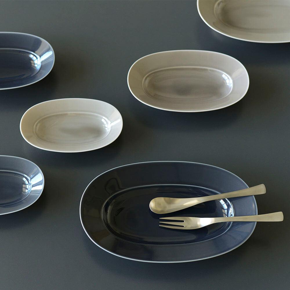 yumiko iihoshi porcelain/オーバルプレート