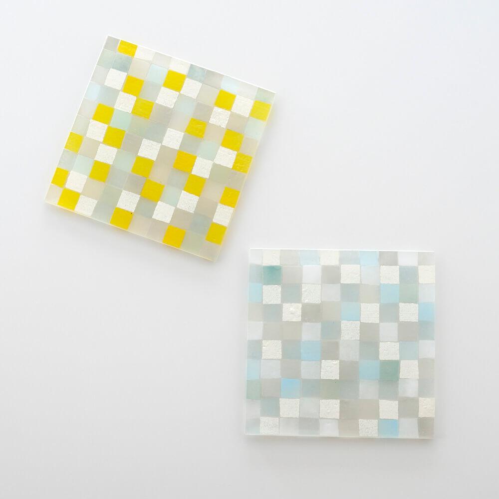 「square スクエア 15×15」プレート(2種)