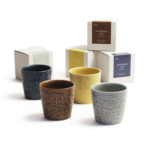 PATTERNED CUP フリーカップ
