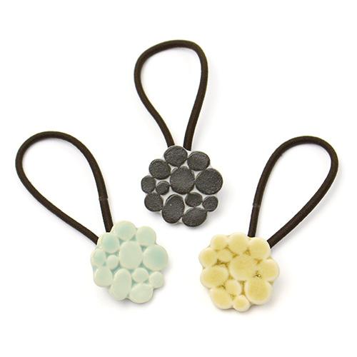 patterned mini ヘアゴム B
