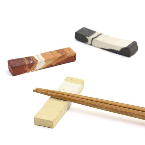 練り込み 箸置き(3色)