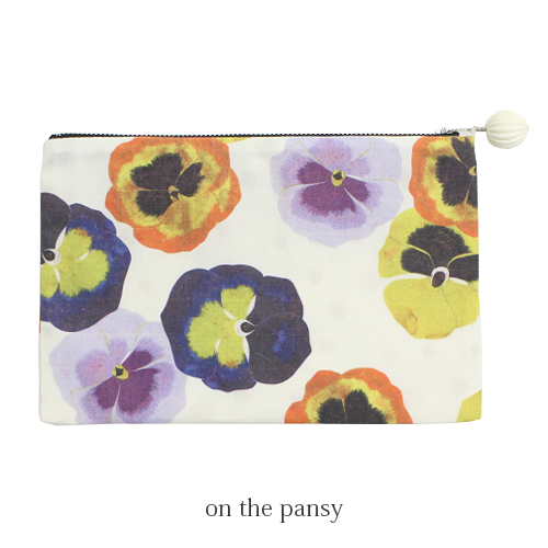 on the pansy