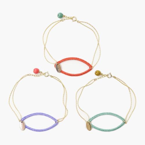 ブレスレット「fuchidori bracelet」