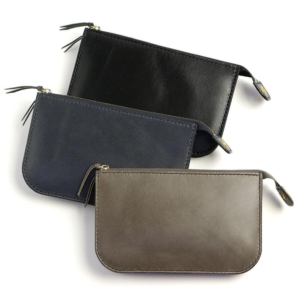Zip(L)財布(4色)