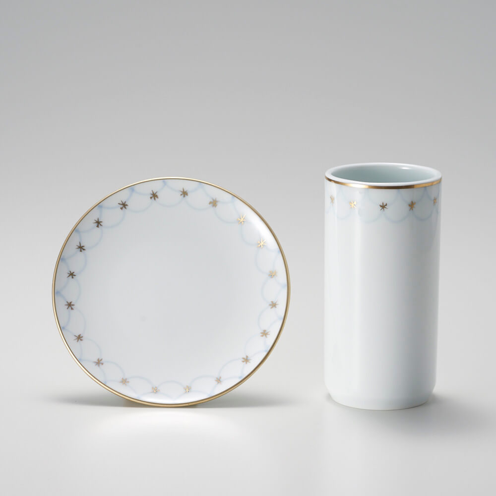 Shizuka Tatsuno 辰野しずか/mg&gk - porcelain for boro cookie & hōjicha ぼうろとほうじ茶の器(9種)