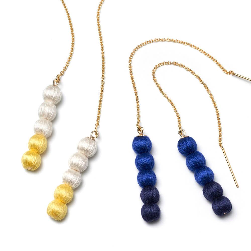 ピアス「amatsubu pierce」(2色)