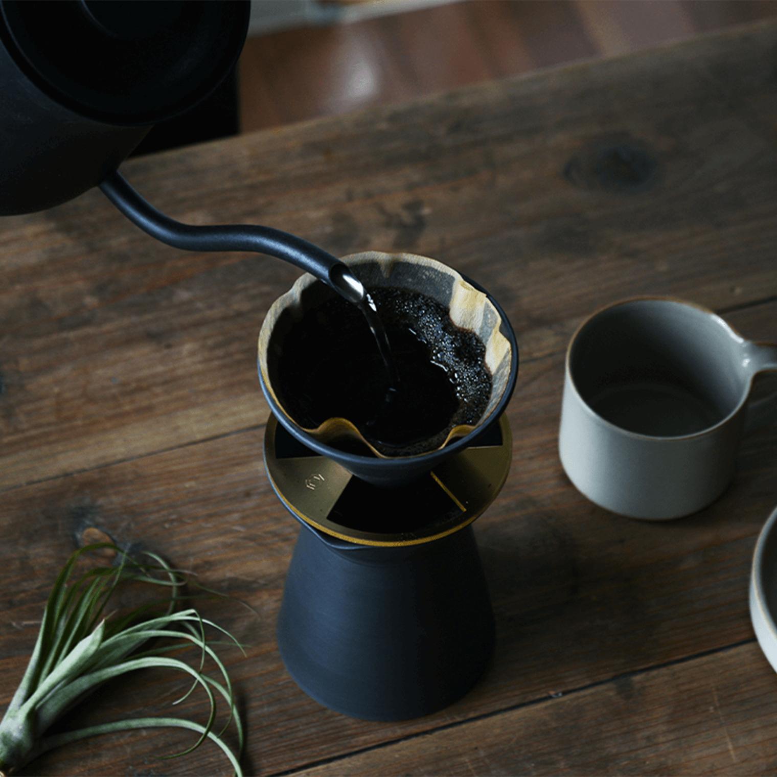 コーヒーサーバー 黒練