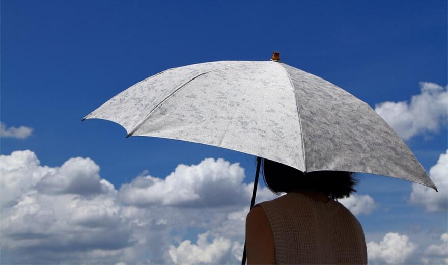 【7月25日まで】晴れの日も雨の日も hatsutoki の晴雨兼用傘