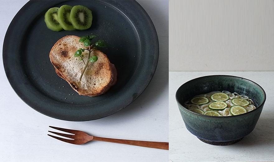 料理を引き立てる 平野日奈子の器